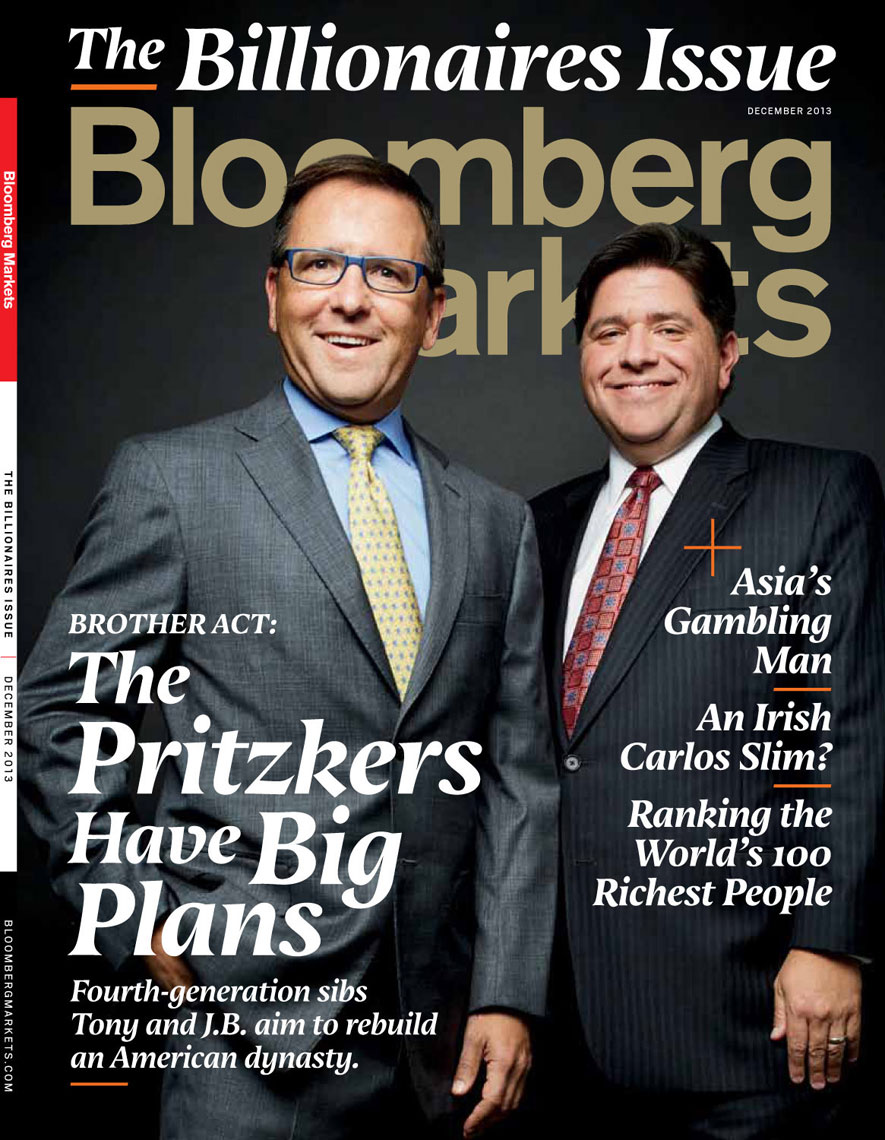 Bloomberg-Markets-Pritzkers-cover-copy